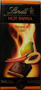 Hot Papaya Chocolate