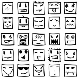 emotions-caricatures